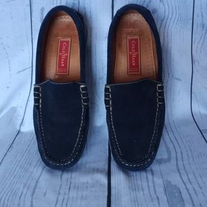 Cole Haan Country navy blue suede loafers 7.5b f10